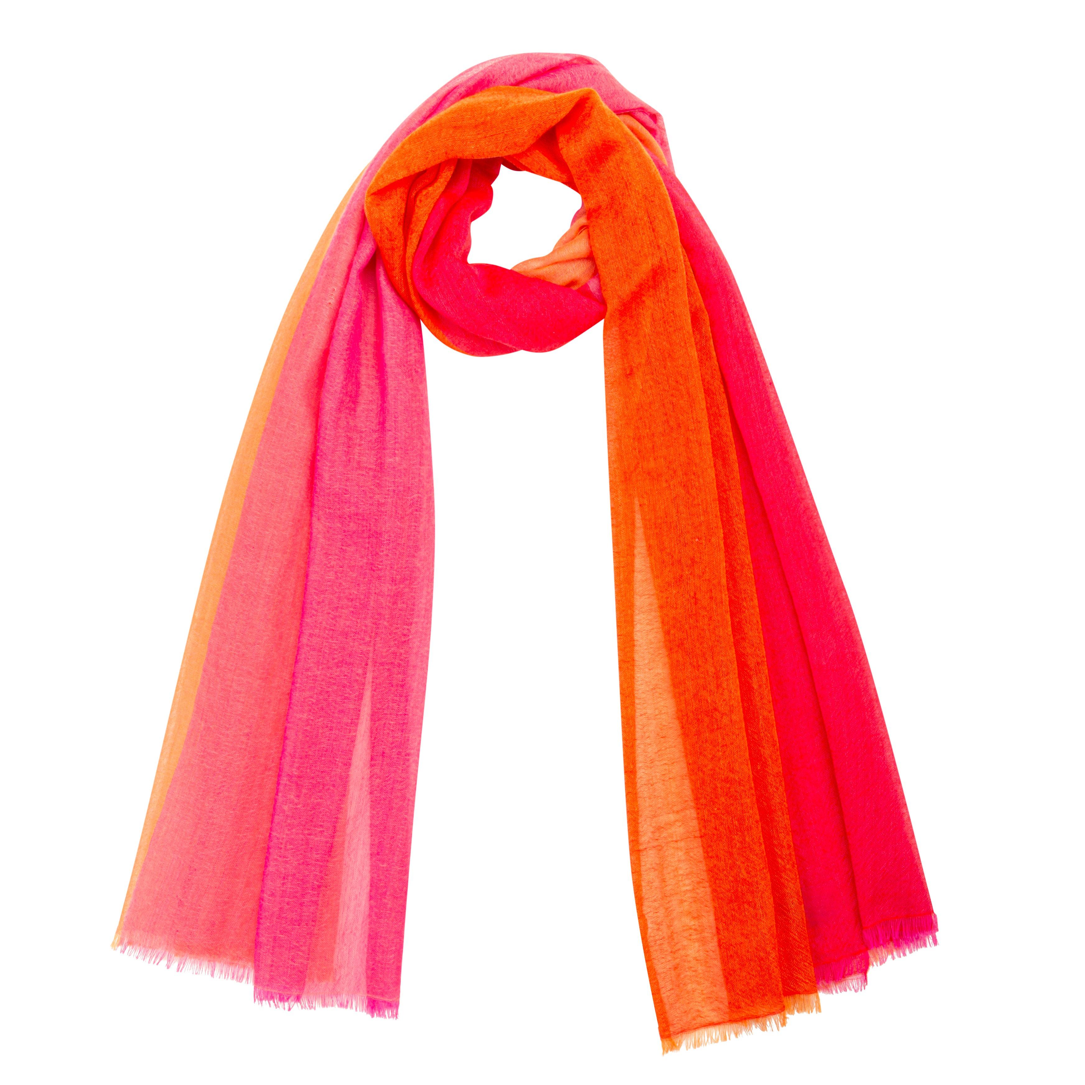 Fuchsia Pink Super Super Soft Cashmere Wrap//Scarf